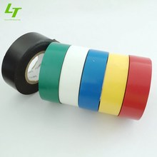 colored strong adhesive fire resistance pvc tape