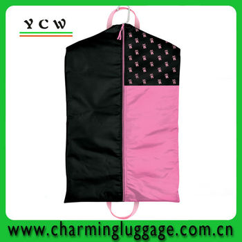 custom printed wedding dress garment bag wholesale