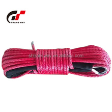 3-16mm Diameter UHMWPE/ Dyneema ATV/UTV winch basic sythtic Rope