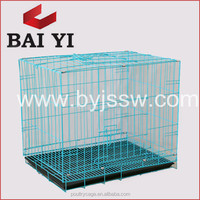 "24"" X 18"" X 19"" Galvanized Steel Pet Dog Cage And Equipment"