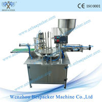 2015 wholesale rotary goat cheese/yoghurt cup filling machine