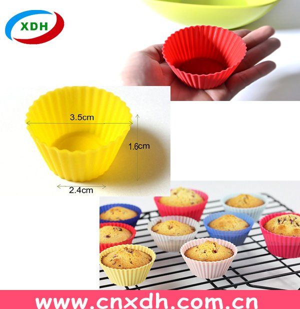 Custom Your Silicone Cake Mold Pantry Elements Silicone Baking Cups/Cupcake Liners