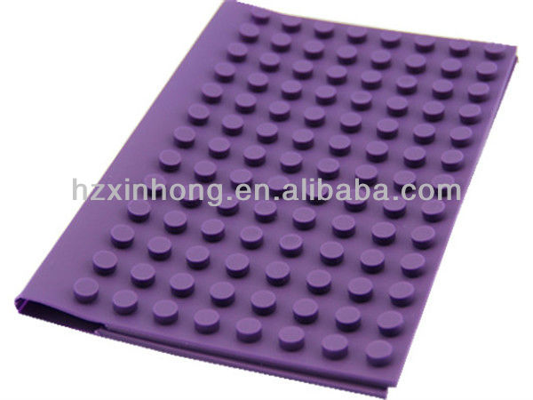 Brand new customed fda silicone soft laptop book cover