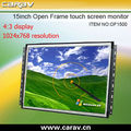 22 inch open frame advertising display monitors 15 inch lcd monitor LCD advertising player