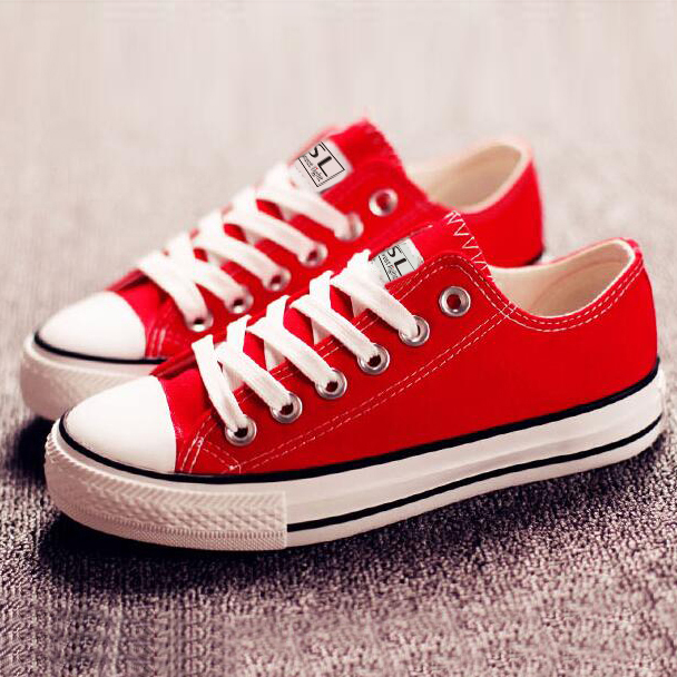 wholesale high quality cheap fashion low top women custom canvas shoes