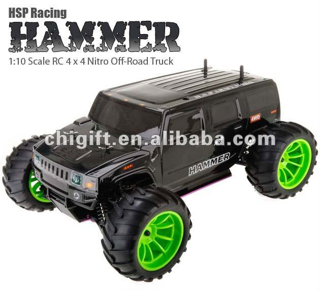1/10 Hammer Nitro truck with taiwan engine