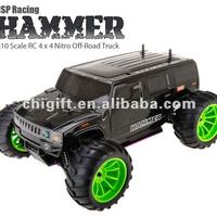 1 10 Hammer Nitro Truck With
