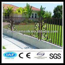 Good looking iron arch garden gate