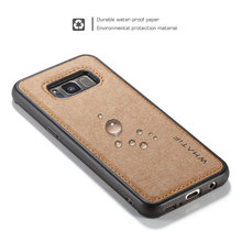WHTAIF Brand for Galaxy S8 Case, Mobile Phone Accessories for Samsung Galaxy S8 Leather Case