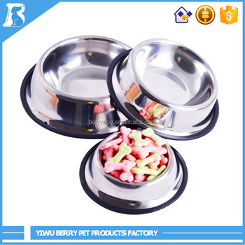 China Wholesale High Quality stainless steel dog bowl