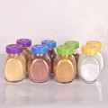 Color quartz sand for resin bonded screeds and for art decorative sand for vases fine color sand