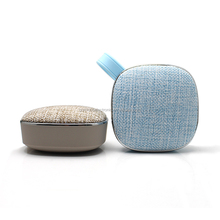 Portable outdoor wireless bluetooth speaker with fashional fabric cover