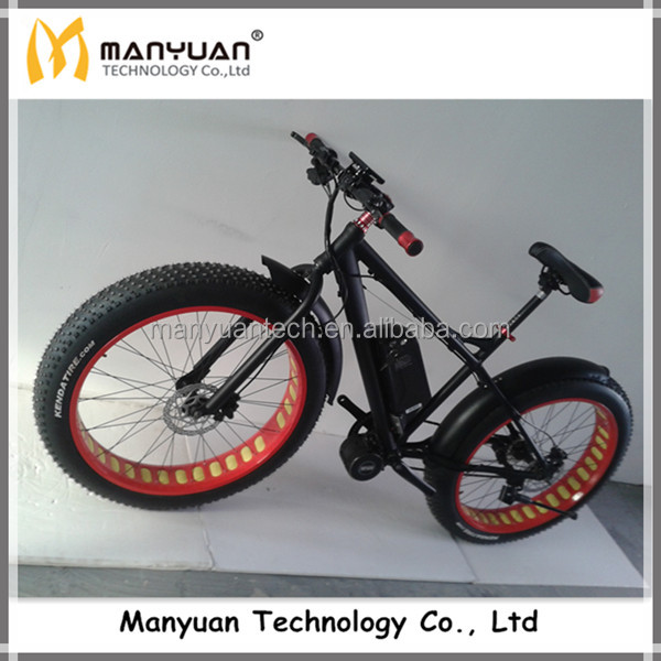48v 500w mid motor electric fat bike buy electric for Mid motor electric bike
