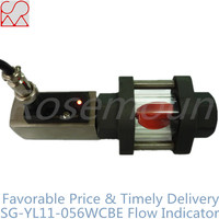 Lighting Sight Glass Water Flow Indicator and LED Light Water Flow Rate Sensor Manufacture