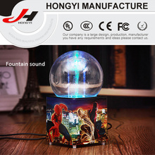 Colorful Lights Fountain Water Spray Dance Music Speakers Notebook Mobile Audio Box Audio Creative New