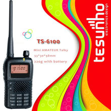 TS-6100 with frequency scrambler function and LCD display 5w long range transceiver radios sale