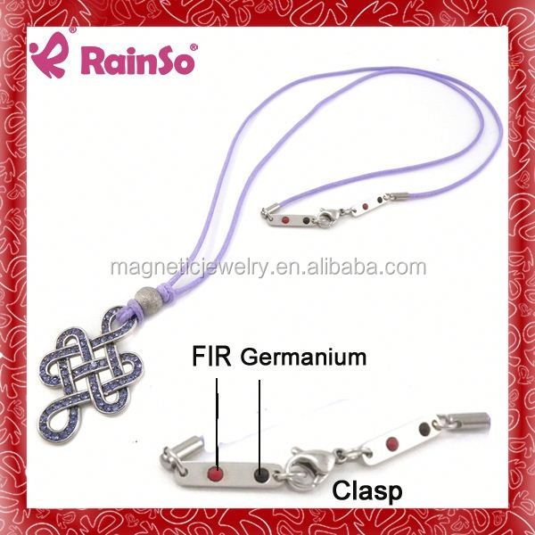friendship bracelet bulk high quality steel magnetic ring holding necklace