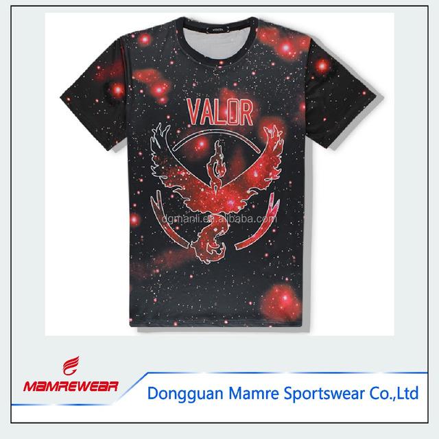 2017 High Quality Gym Clothing Dri Fit Mens Compression T Shirts ,Custom Digital Wholesale T-shirt