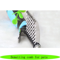 Dematting comb for cats dogs, littles pet shop, pet grooming supplies