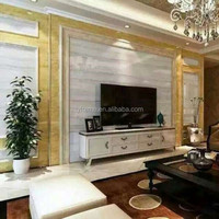 Building Materials Faux Mable Stone PVC Wall Panels for India Market