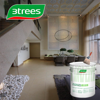 3TREES matt white interior latex emulsion paint