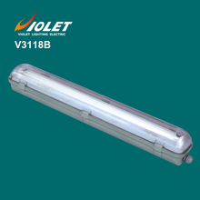 Factory Supply single t8 fluorescent light fixture plastic cover From VIOLET