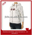 OEM high qualtiy 100% cotton embordiery hoodies