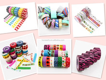 decoration printed washi tape, China washi tape supplies