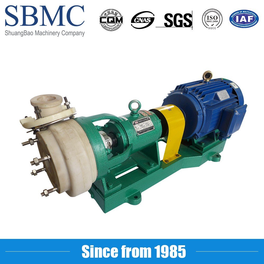 hot selling high head chlorine water centrifugal pump