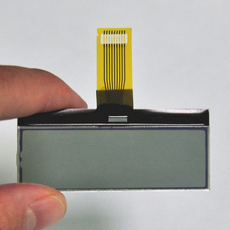segment graphic lcd display module FPC connector <strong>15</strong> characters x 1 line lcd display for hand-held device