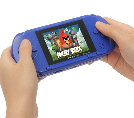 PXP3 16-bit Children Classic Handheld Digital Screen Video Game Console For Kids