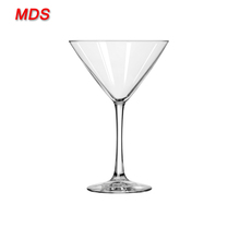 Glassware manufacturers clear mexico martini glass goblet with stem