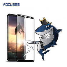 Wholeasle Anti Shock Full Size Tempered Glass Film For Note 8 3D Protective Glass Screen Protector