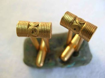 Gold-plated Cuff-link