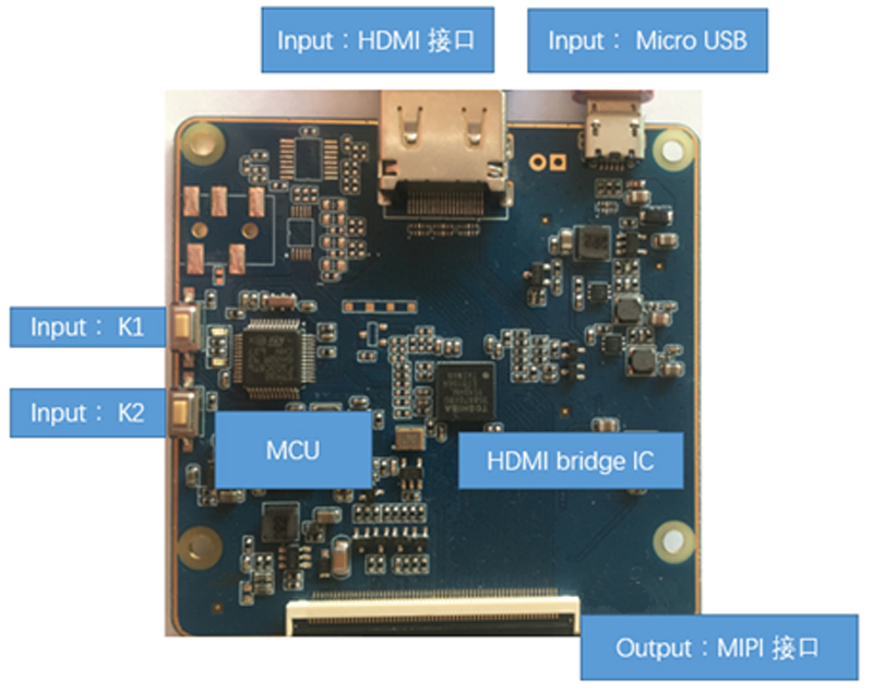 hand-held device MIPI SPI controller and 1080x1920 wifi display