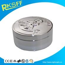 high quality metal baby first tooth saving box