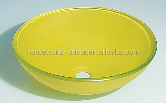 wash basin tempered glass 12mm