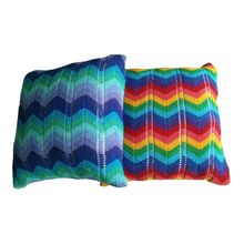 100% Acrylic Knitted Sofa Seat Cushion Covers for Office