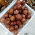 beautiful red natural crystal sunstone ball