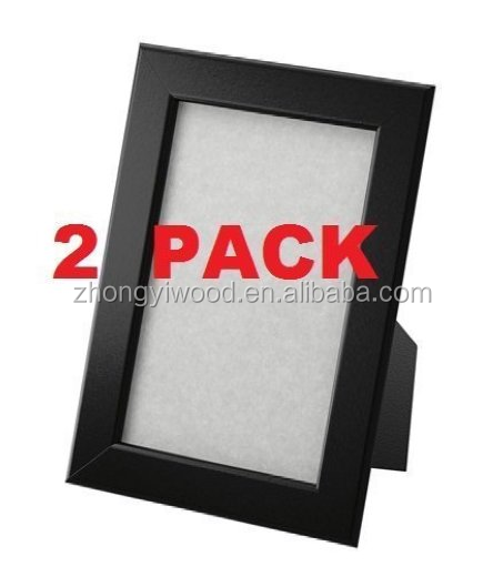 acrylic handmade black picture frame made to display pictures