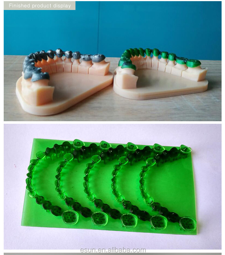 eSUN 3D Printing Castable resin for dental