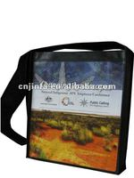 Non Woven Fashion Shoulder Bag with lamination print