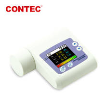 CONTEC Handheld Spirometer Lung Check,Pulmonary Function,PC Software bluetooth