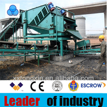 Tongxin effective cost gold mining equipment Sand sieving machine corn harvester machine sand filter machine with vibrantion