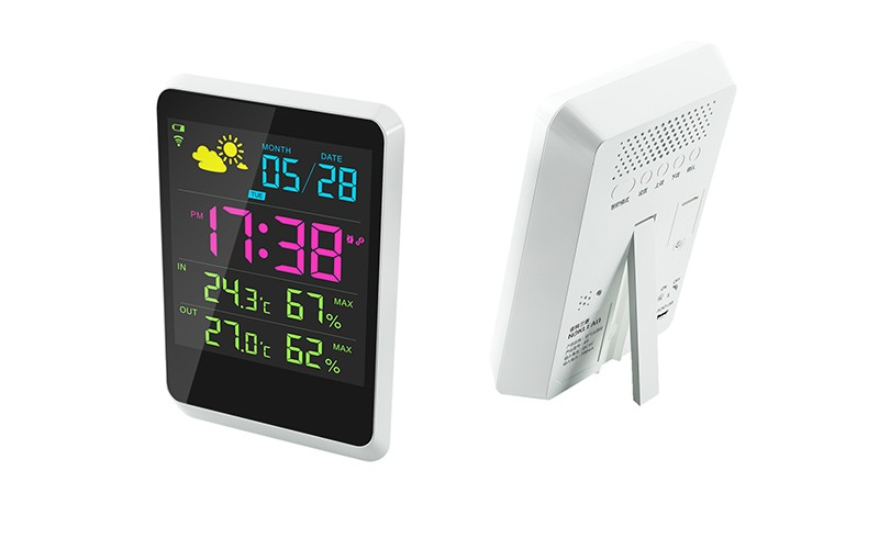 outdoor wireless usb weather forecast station with sensor