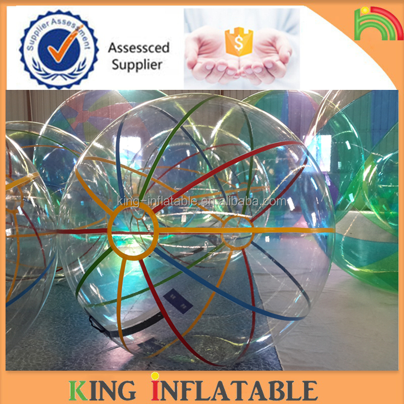 Inflatable Striped Water Ball Inflatable Human Hamster Ball