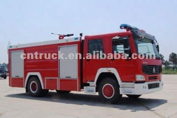 HOWO water&foam Fire Fighting Truck(8t)