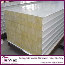 Color Steel Sheet Fireproof Wall Fiber Glass Sandwich Panel