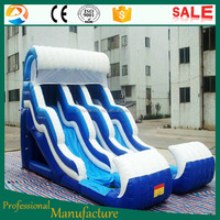 Giant Used Inflatable Water Slide For Sale Inflatable Glacier Slide Sea Ocean Slide