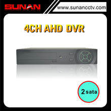 China Top DVR Manufacturer 4CH 720P AHD DVR support mobile phone view and icatch platform dvr